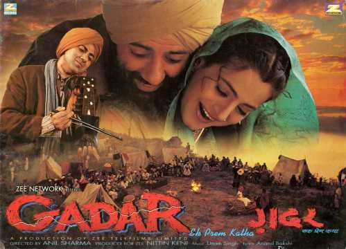 Gadar ek prem katha || hindi full movie hd sunny d youtube.